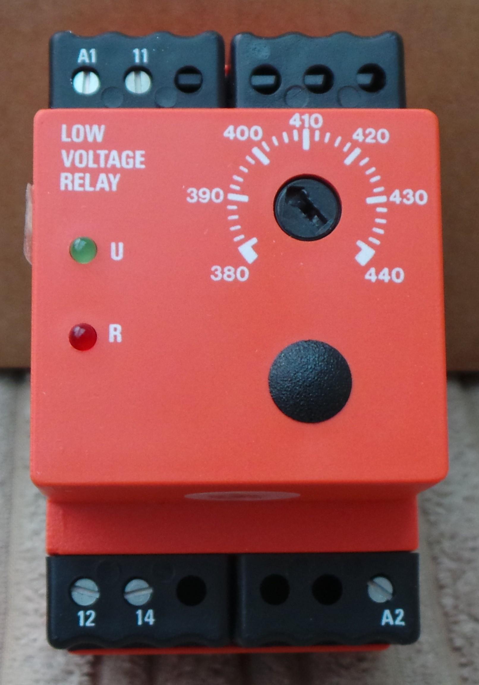Cincinnati Parts Low Voltage Relay